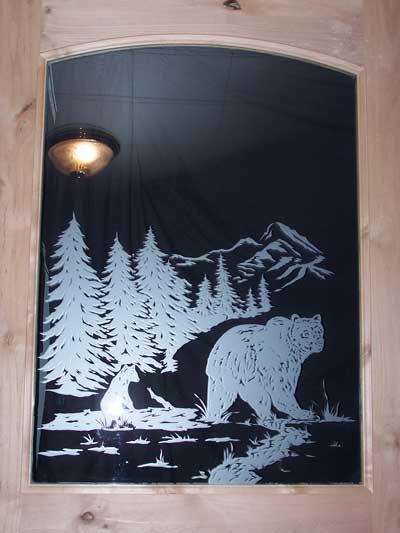 Etched Glass Doors From Premier Doors Amp Millworks
